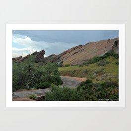 Red Rocks, CO Art Print