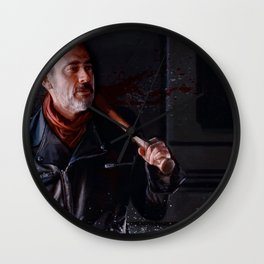 Negan And Lucille - The Walking Dead Wall Clock