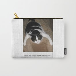 Fat Cat looks Flat Carry-All Pouch