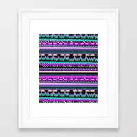 sonic youth Framed Art Prints featuring ▲SONIC YOUTH▲ by Kris Tate