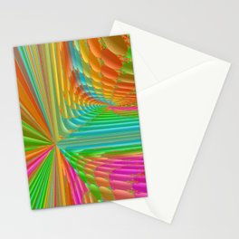 Abstract 359 a dynamic fractal Stationery Cards