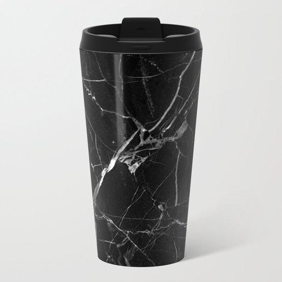 Marble texture Metal Travel Mug