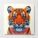 Tiger - Colorful Animals by raquelcatalandesigns
