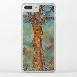 """""""Totem Tree (i)"""" by ICA PAVON Clear iPhone Case"""