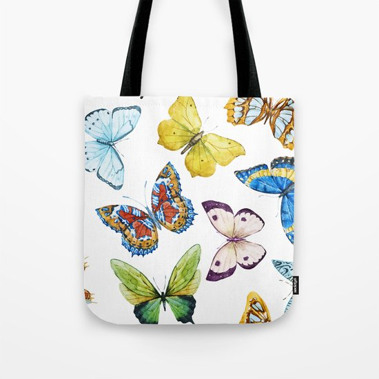 Butterfly Pattern 01 Tote Bag