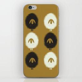 Sheep ochre iPhone Skin