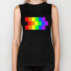Rainbow Flag - High Quality image Biker Tank