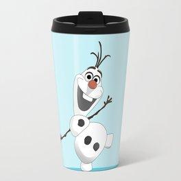 Olaf Frozen cartoon snowmen Travel Mug