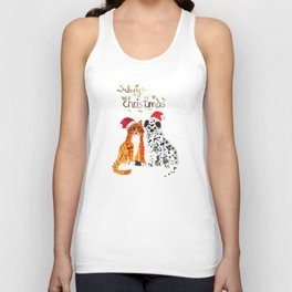 Merry Christmas Unisex Tank Top