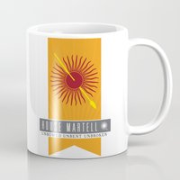 martell Mugs featuring House Martell Sigil V2 by P3RF3KT