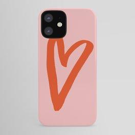 Heart Doodle Big 1 iPhone Case