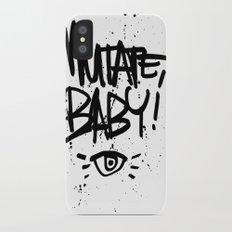 Mutate, Baby! Logo Slim Case iPhone X