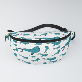 Happy Whales Fanny Pack