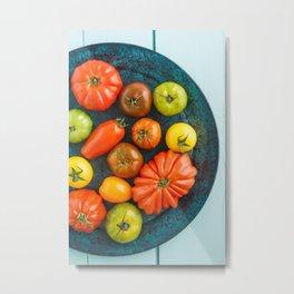 Various heirloom tomatoes Metal Print