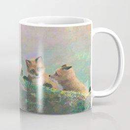 Red Fox Kits First Outing Coffee Mug