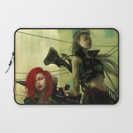 Hot pepper - Sci-fi soldier girls with weapons Laptop Sleeve