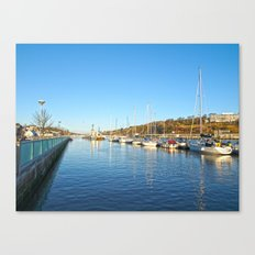 Waterford City Quayside  Canvas Print
