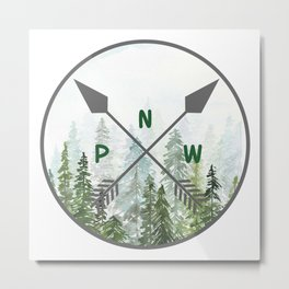 Icons of the Pacific Northwest Metal Print