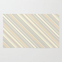Diagonal Stripes Background XIX Rug
