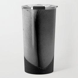 Curves in Black and White Travel Mug