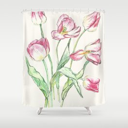 Triumph Tulips Shower Curtain