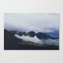Roll In Canvas Print