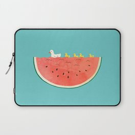 duckies and watermelon Laptop Sleeve