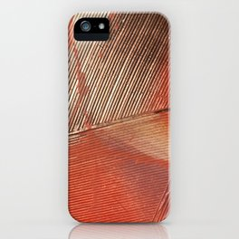 Gemstone #3: a textured, abstract piece with a hint of gold by Alyssa Hamilton Art iPhone Case