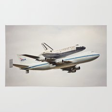 Space Shuttle Discovery Rug