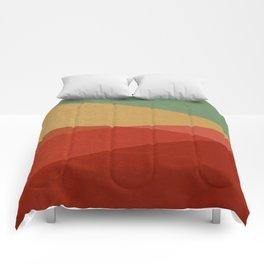 Stripe IX Modern Century Comforters