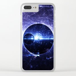 The Double Slit Experiment Clear iPhone Case