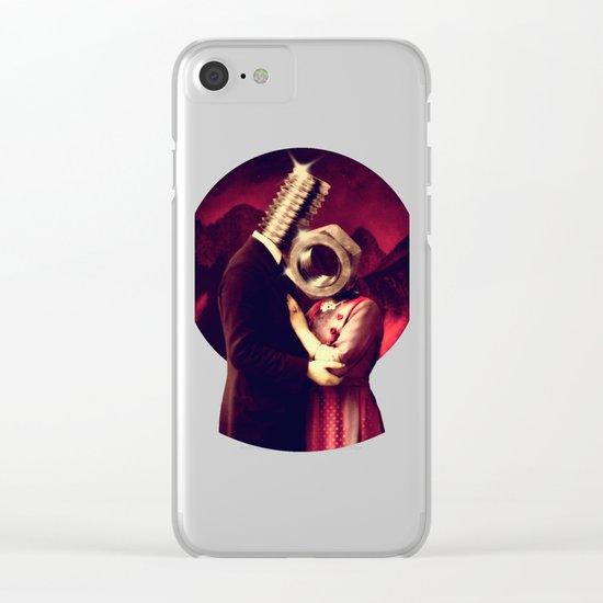 Screw Love Clear iPhone Case