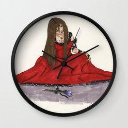 Single Flower Wall Clock