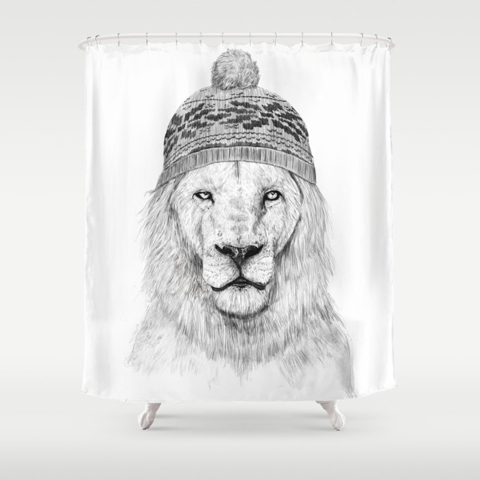Winter is here I Shower Curtain