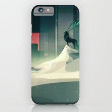 Winter in a dark world iPhone 6s Slim Case