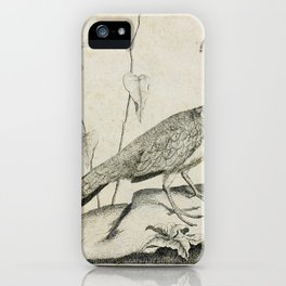 002 pfauhenne (Ger)2 iPhone Case