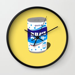 Calpis can Wall Clock