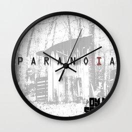 Paranoia CD Merch Wall Clock