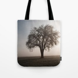 Solitude Frost Tote Bag