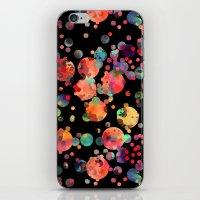 confetti iPhone & iPod Skins featuring Confetti by Schatzi Brown