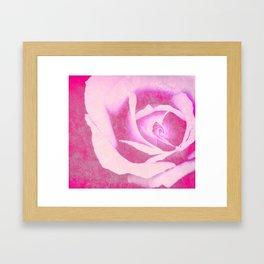 Purple Crush Framed Art Print