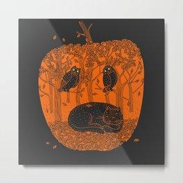 Pumpkin Story. Chapter 1 Metal Print