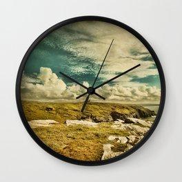 The Land of King Arthur Wall Clock