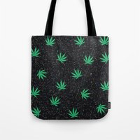 weed Tote Bags featuring Weed by jajoão