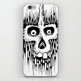 Skully Line iPhone Skin
