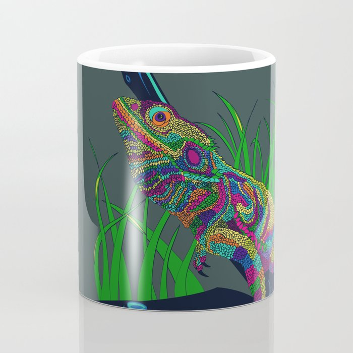 Colorful Lizard Coffee Mug