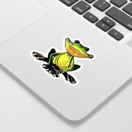 Jon Jade - The Cambodian Tree Frog Sticker