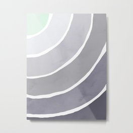 Blue Palette Rainbow Metal Print