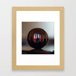 Sphere Framed Art Print