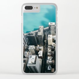 Chicago From Above Clear iPhone Case